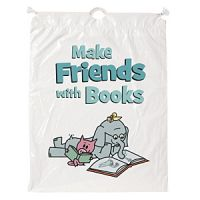 Drawstring Book Bags. PD137-1410