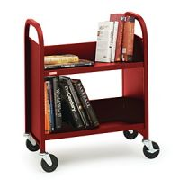 Economical Desk Side Book Trolley