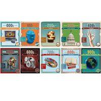 Dewey Vintage Mini Poster Set. PD136-3599