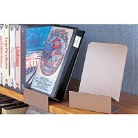 Steel Clip On Shelf DVD Display Support