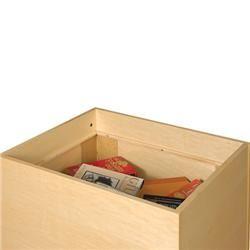 Depressible Maple Veneered Book Carts