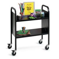 Book Trolley- Light Duty 2 Flat Shelf. PD809197