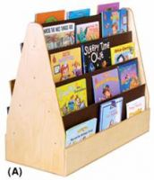 Mobile Cascading Double Side Economical Book Shelves