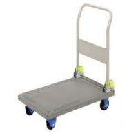 Folding Handle Plastic Platform Cart Japan Made