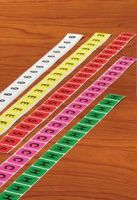 Numeric Labels on Roll