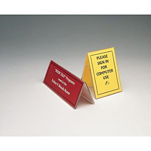 Acrylic Sign Holder