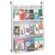 Luxe Magazine Literature Wall Mount Rack B81531002