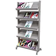 easyDisplay Mobile Magazine Stand