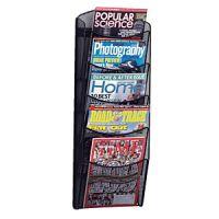 SAFCO Mesh Magazine Wall Rack 5 pockets