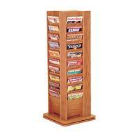 Wooden Cascade 40 Pocket Magazine Tower