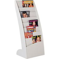 Paperflow Curved Floor Literature 8 Pockets Display