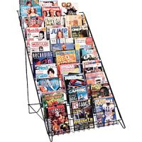 Steel Wire 10 Tiers Book Magazine Display