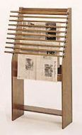 Classic Newspaper Display Rack