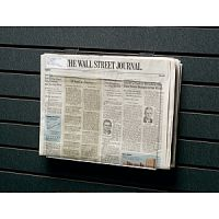 Acrylic Slatwall Newspaper Holder