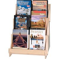 Plywood Tiered Display Rack PD809383