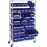UtraZinc Mobile Rack System with 24 Bins. PD137-4989
