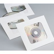 Tyvek CD DVD Window Envelopes. PD142-6530