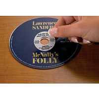 CD DVD Security Void Labels PD136-9556