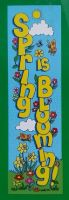 Vertical Decor Banner 4ft Seasonal Theme