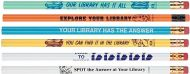 Library Promotion Gift- Pencils 12/pack