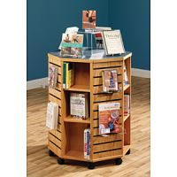 New Arrivals Display Rack -Mobile Octagon Low Height Display 16PMT787-9547