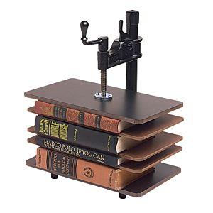 Bookcraft Steel Book Press & Plexiglas Rods