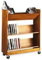 Laminate Wood Trolley 3 Slop Shelves. 11PMT833-5280S