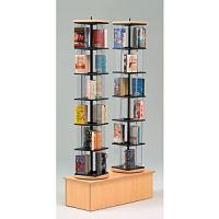 Multimedia Rotor Display Stand- Double Tower PD141-0606