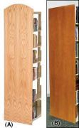 End Of Range Laminate Wood Panel ARC Top.10PMT507-ARC