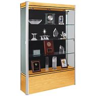 Exhibit Display Glass Cabinet- High Wood Base 15PMTB702-298