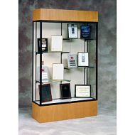 Glass Display Case Standard Wood Base. 16PMT846-3201