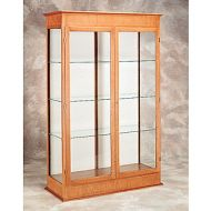 Full Height Wood Door Frame Glass Case 16PMT847-4731