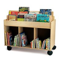 Two Side Large Capacity Mobile Browsing Cart
