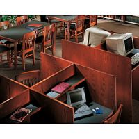 Study Carrels Double Face Design