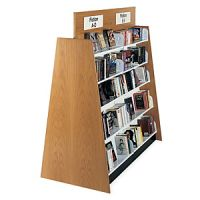 Open Top Design Laminate Wood Book Shelves
