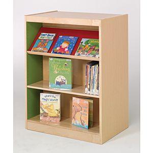 Classic Design Laminate Wood Picture Book Shelves