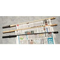 Solid Wood Newspaper Sticks. PD148-7821