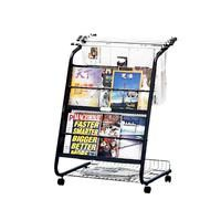Newspaper and Magazine Wire Rack. STZ42412