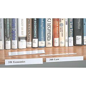Adhesive Shelf Label Holder
