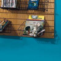Wire Slatwall Small All Purpose Basket