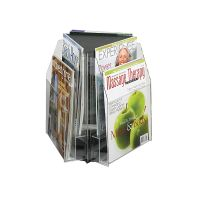Table Top Magazine Display Spinner 6 Pocket. PD149-9521
