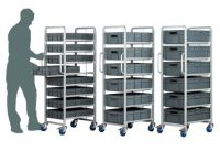 Professional 6 Level Drawer Trolley
