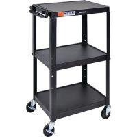 Adjustable-Height AV Carts. PD153-0077