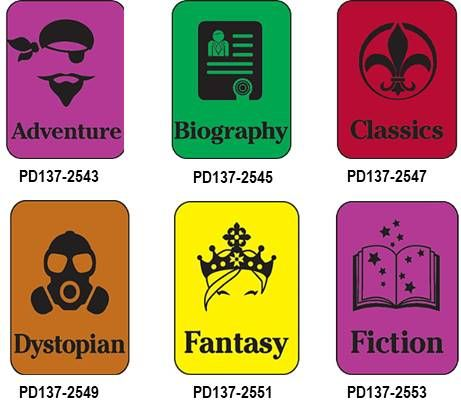 Subject Classification Silhouette Genre Labels